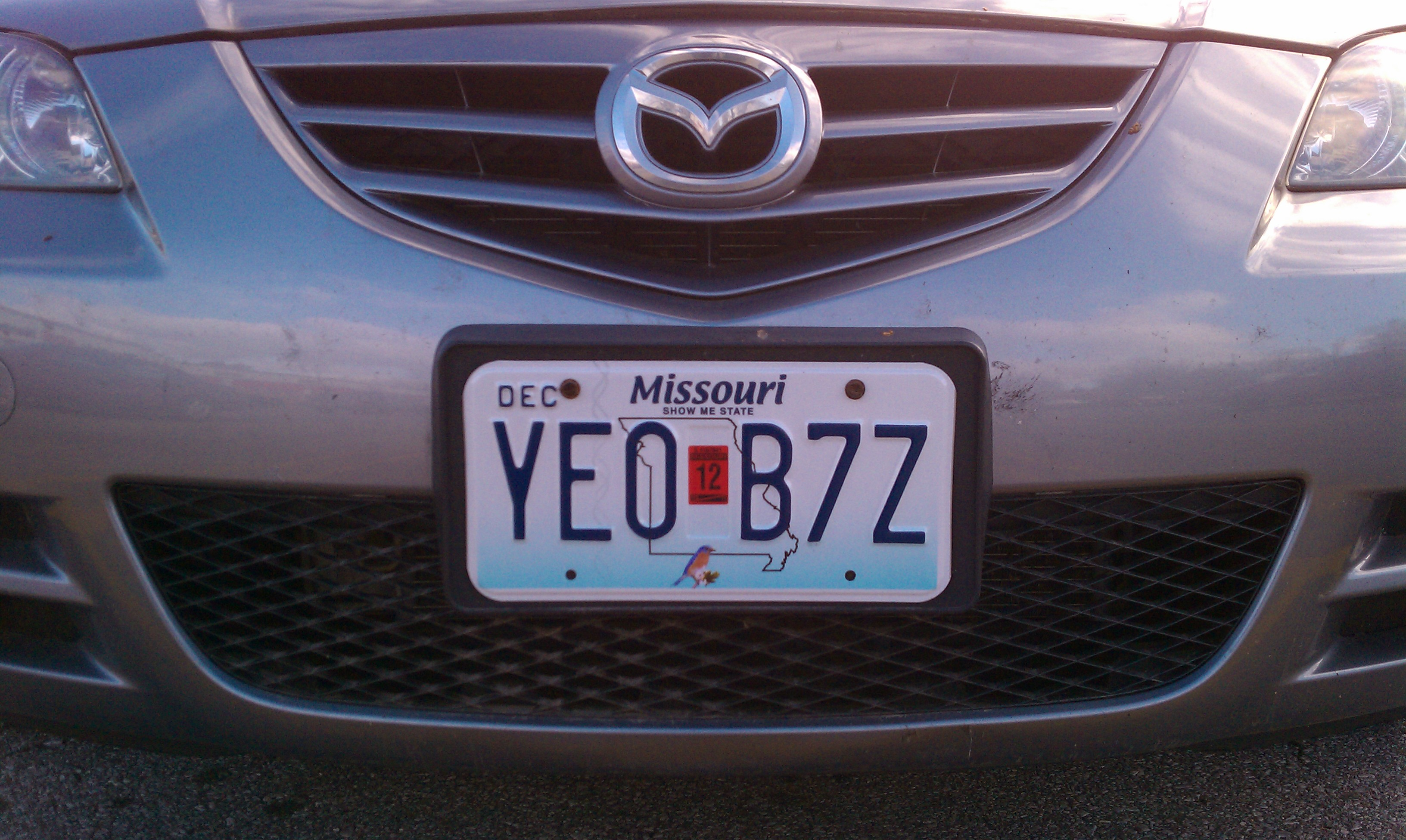 Yeo! Bzz off, tow truck - I\'m legal again.