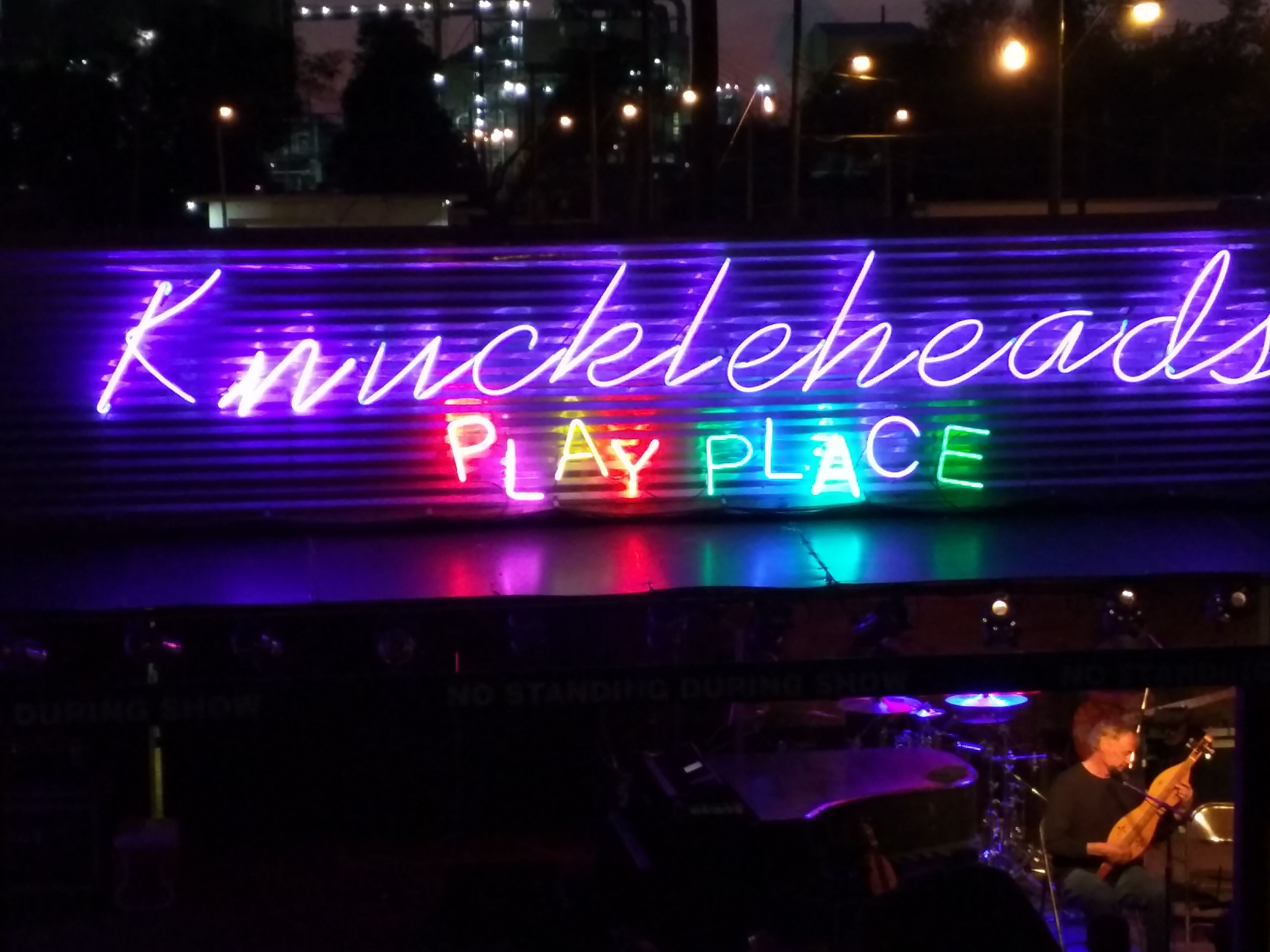 At Knuckleheads with Bruce Hornsby